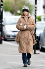 Alice Eve Out for a stroll in London