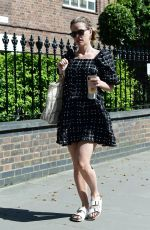 Alice Eve Out in London