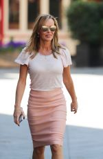 Amanda Holden Arriving at Global Studios in London
