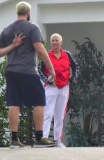 Amber Rose Gets Some Fresh Air outside of Quarantine