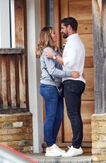 Amy Childs Packing on the PDA with new boyfriend Tim