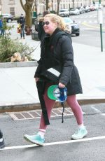 Amy Schumer and her family take a short walk in the city