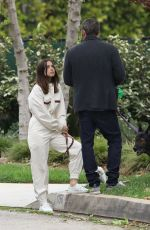 Ana de Armas & Ben Affleck Out in Pacific Palisades