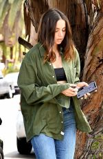 Ana De Armas O&A in venice California