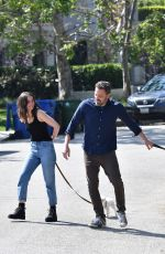 Ana de Armas Out with Ben Affleck in Brentwood