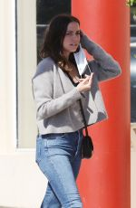 Ana De Armas Running errands in Santa Monica