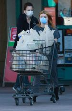 Ariel Winter Shops for groceries in Los Angeles