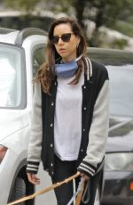 Aubrey Plaza Out in Los Angeles