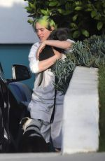 Billie Eilish Spending some time with her family in LA