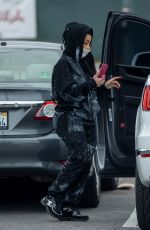 Blac Chyna Seen picking up packages in Calabasas