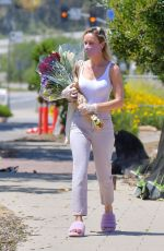 Brie Larson At the Farmers Market in Malibu