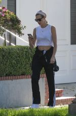 Brooke Burns Out for a walk in Los Angeles