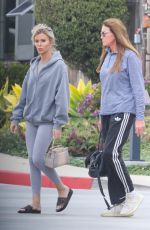 Caitlyn Jenner and Sophia Hutchins leave Kristy