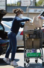 Charli XCX Outside a grocery store in Los Angeles