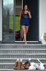 Charlotte Crosby Spotted at her house in Sunderland