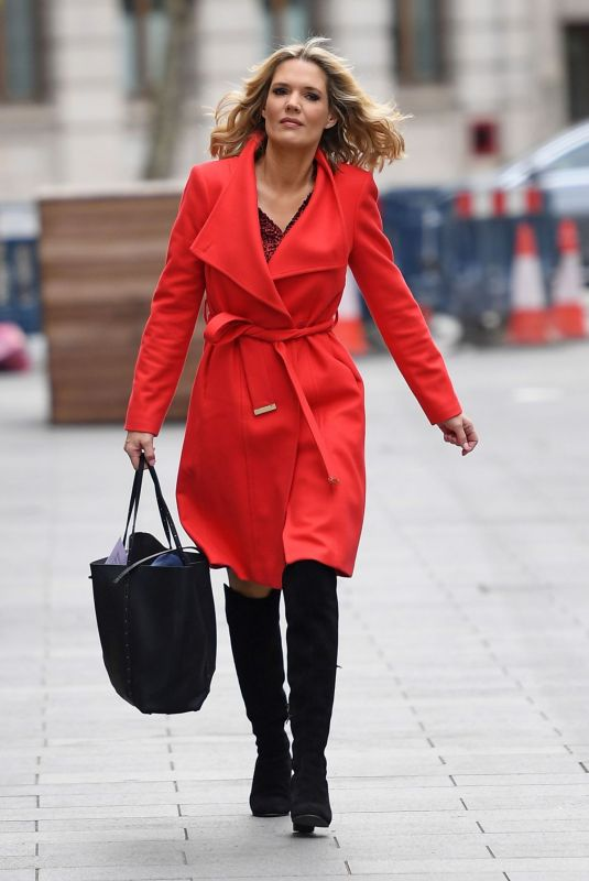 Charlotte Hawkins Arriving at Global House in London