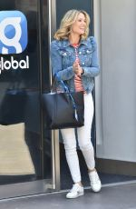 Charlotte Hawkins Arriving at the Global studios to record her Classic FM Radio show in London