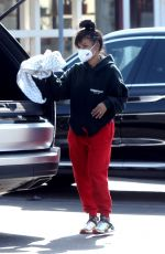 Christina Milian At a market in Los Angeles