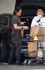 Diane Kruger and Norman Reedus seen grocery shopping despite stay at home rule in Los Angeles