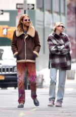 Elsa Hosk and Tom Daly Head Out on a Walk in New York City