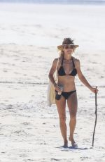 Elsa Pataky In bikini at Byron Bay
