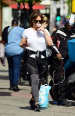 Emily Atack Looking sporty as she