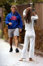Emily Ratajkowski Scared after Colombo ran loose in LA