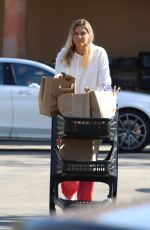 Gabrielle Reece Seen on a grocery run ahead Easter during pandemic
