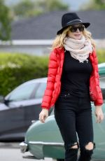 Heather Graham Out for a walk in LA
