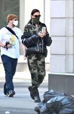 Irina Shayk Looks Fashionable During an Outing in New York City