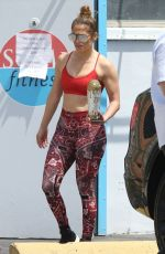 Jennifer Lopez Leaving the gym in Miami