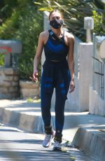 Jessica Alba Out for walk in Beverly Hills
