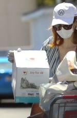 Jessica Chastain Shopping for baby essentials in Palos Verdes