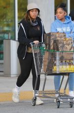 Jordyn Woods Steps out to buy groceries in Los Angeles