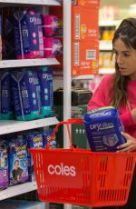 Kasey Osbourne Shopping for nappies