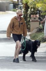Kate Bosworth Goes for a very short walk with Michael Polish
