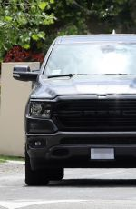 Kate Hudson Takes her new New Dodge Ram Warlock our for a spin