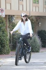Katherine Schwarzenegger Goes on bike ride in Santa Monica