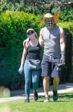 Kristen Bell On a walk around the Griffith Park in LA