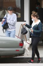 Lana Del Rey Hangs out with her sister Caroline Grant as the two head out to run errands through Los Angeles