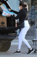 Lauren Silverman Gets two full carts of groceries at the Market