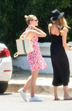 Lili Reinhart Out with friend in Los Angeles