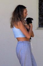 Maddie Ziegler Slips into a bikini as she joins Sia and her friends at her compound in Palm Springs, California