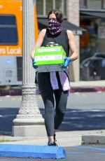 Mandy Moore Outside Culture Club 101 in Pasadena