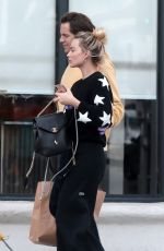 Margot Robbie Outside a grocery store in Los Angeles