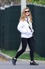 Maria Shriver and Christina Schwarzenegger out for afternoon walk