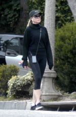 Melanie Griffith Goes for a Solo Walk in LA