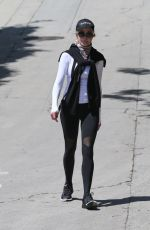 Melanie Griffith Goes for a solo walk in Los Angeles