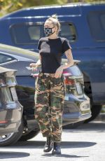 Miley Cyrus Out in Woodland Hills