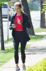 Natalie Morales Out and about, Brentwood, Los Angeles